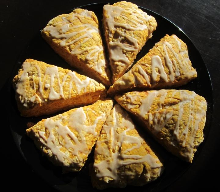 vegan pumpkin scones1