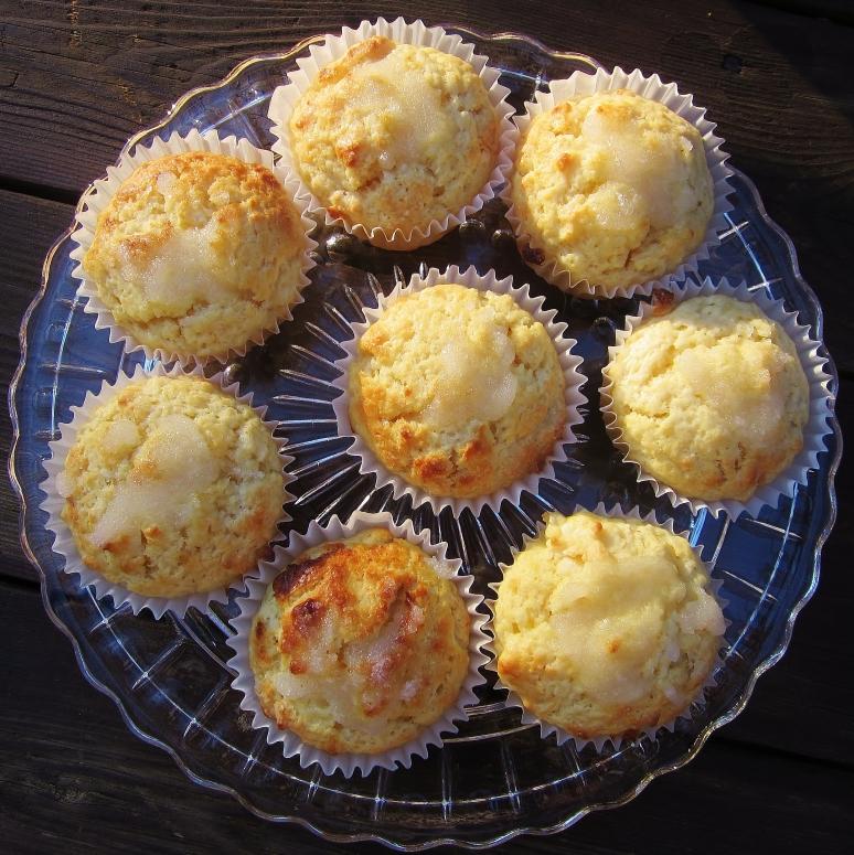 Lemon Cream Cheese Muffins2