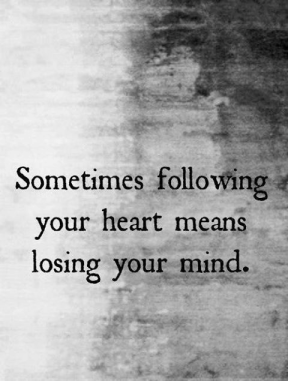 losing your mind
