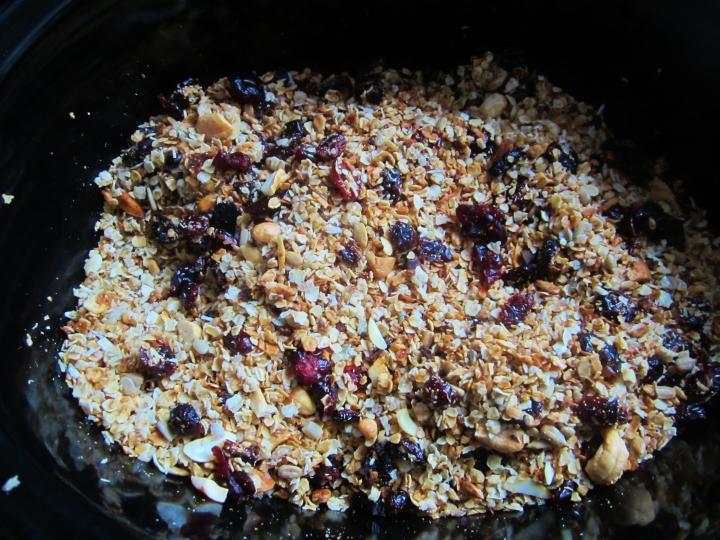 granola - crockpot