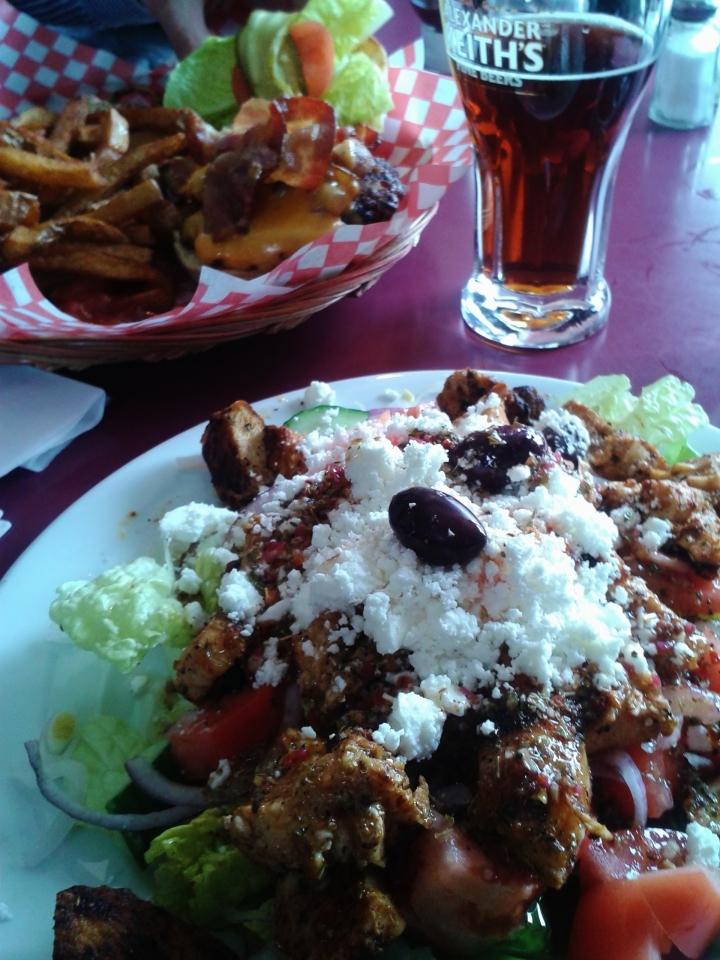 the ports greek salad