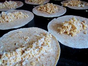 enchiladas in prep