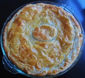 torta pasqualina whole pie