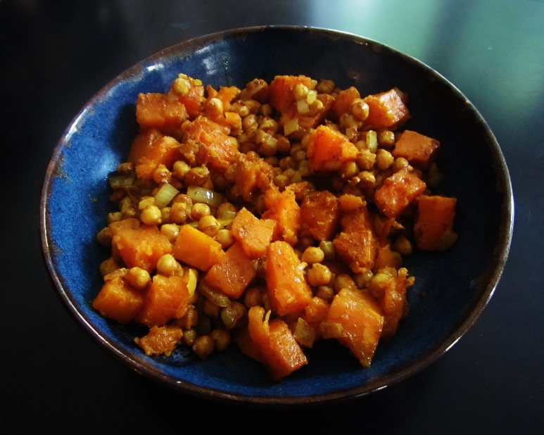 chickpea and sweet potato curry