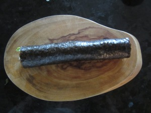 finished, unsliced roll