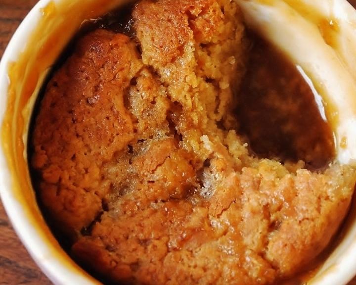 self-saucing butterscotch pudding