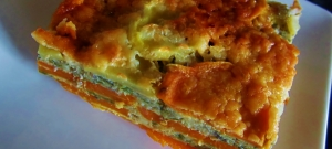 sweet potato lasagna layers